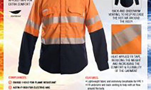 OFV101-MULTITEK-SHIRTS-NAVY-ORANGE-VENTED-PPE1-212x300